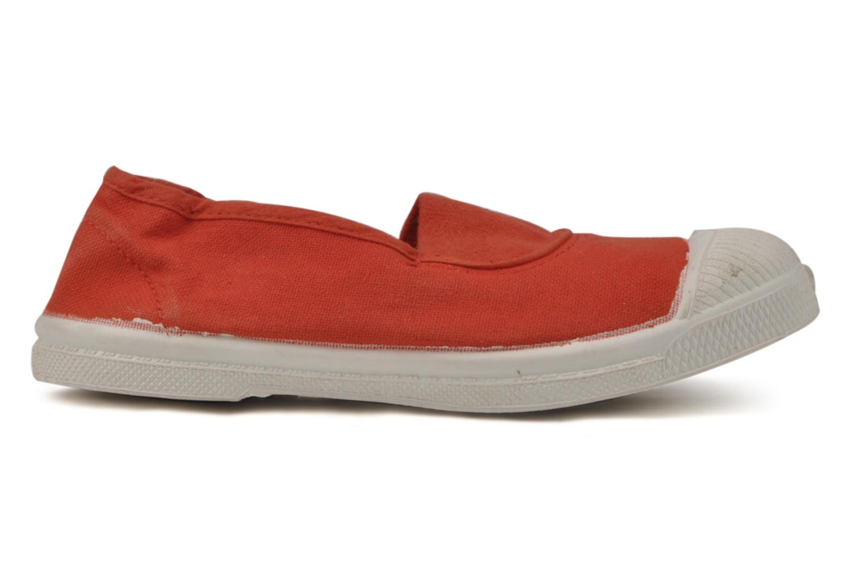 Sneaker Bensimon Tennis Elastique E rot ansicht von hinten