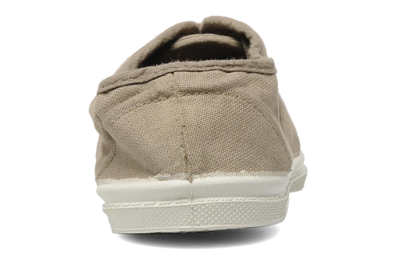 Sneakers Bensimon Tennis Lacets E Beige rechts
