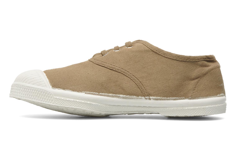 Sneakers Bensimon Tennis Lacets E Bruin voorkant