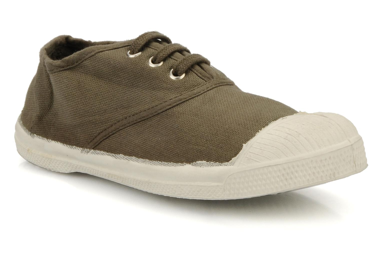 Sneaker Bensimon Tennis Lacets E braun detaillierte ansicht/modell