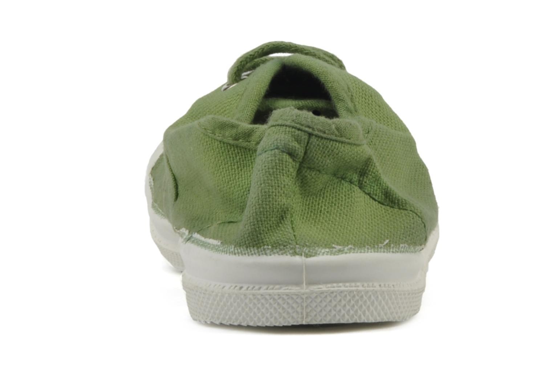 Sneakers Bensimon Tennis Lacets E Grön Bild från höger sidan