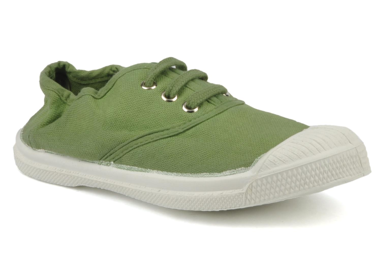 Sneakers Bensimon Tennis Lacets E Grön detaljerad bild på paret