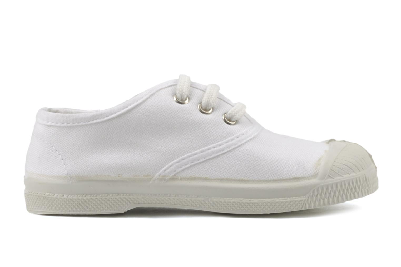 Sneaker Bensimon Tennis Lacets E weiß ansicht von hinten