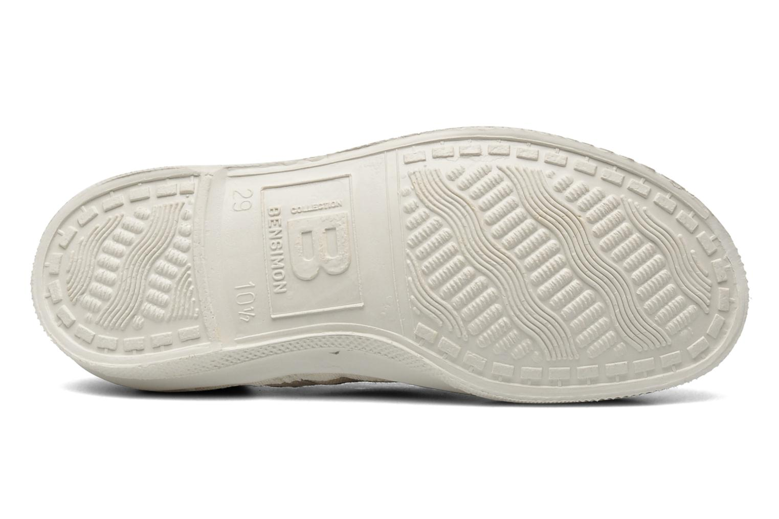 Trainers Bensimon Tennis Lacets E Grey view from above
