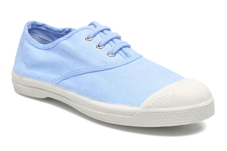 Tennis Lacets E Bleu Oxford