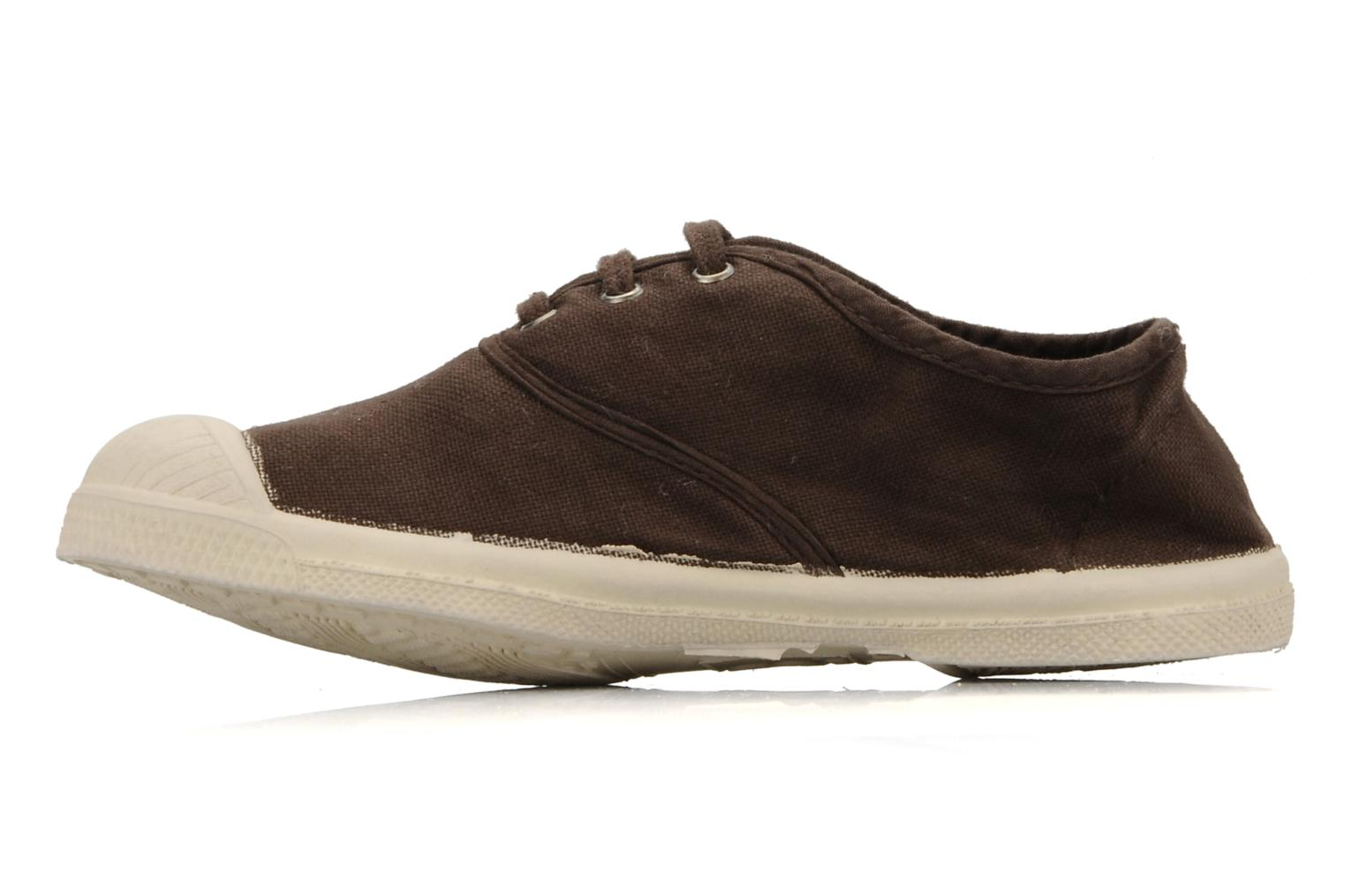 Trainers Bensimon Tennis Lacets E Brown front view