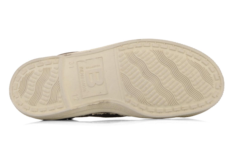 Sneakers Bensimon Tennis Lacets E Brun bild från ovan