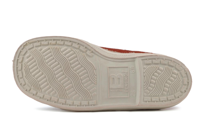 Sneaker Bensimon Tennis Lacets E rot ansicht von oben