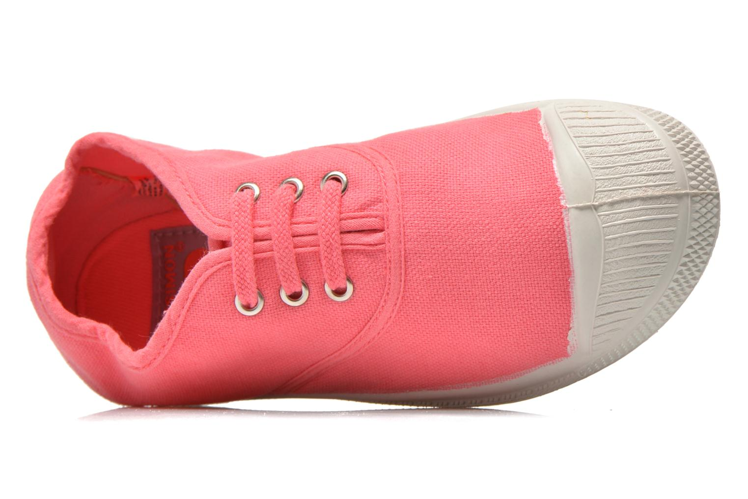 Trainers Bensimon Tennis Lacets E Pink view from the left