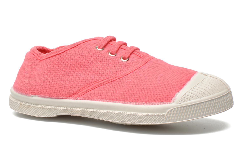 Sneakers Bensimon Tennis Lacets E Pink detaljeret billede af skoene