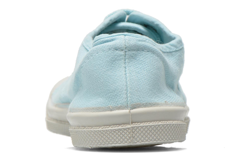 Sneakers Bensimon Tennis Lacets E Blå Se fra højre