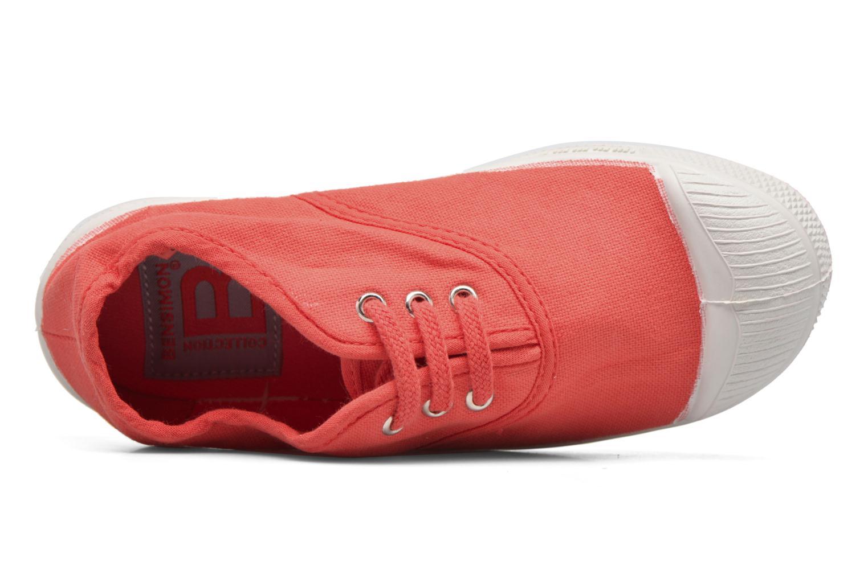 Sneakers Bensimon Tennis Lacets E Rød se fra venstre