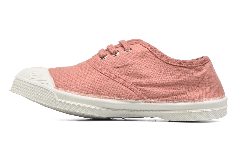 Sneaker Bensimon Tennis Lacets E rosa ansicht von vorne