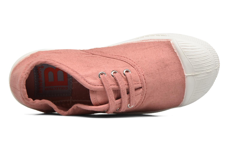 Sneakers Bensimon Tennis Lacets E Rosa bild från vänster sidan