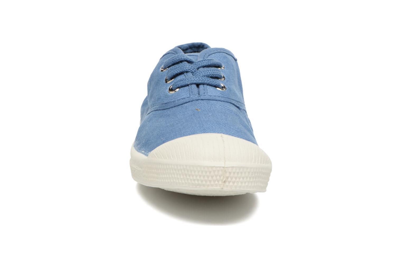 Sneaker Bensimon Tennis Lacets E blau schuhe getragen