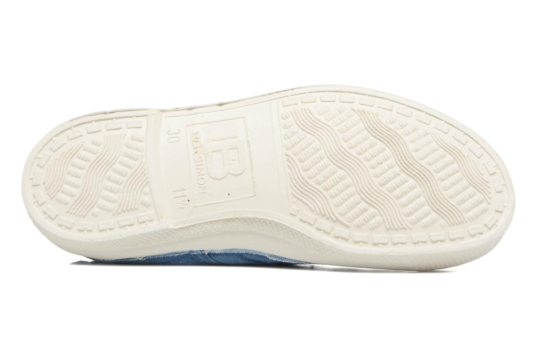Sneaker Bensimon Tennis Lacets E blau ansicht von oben