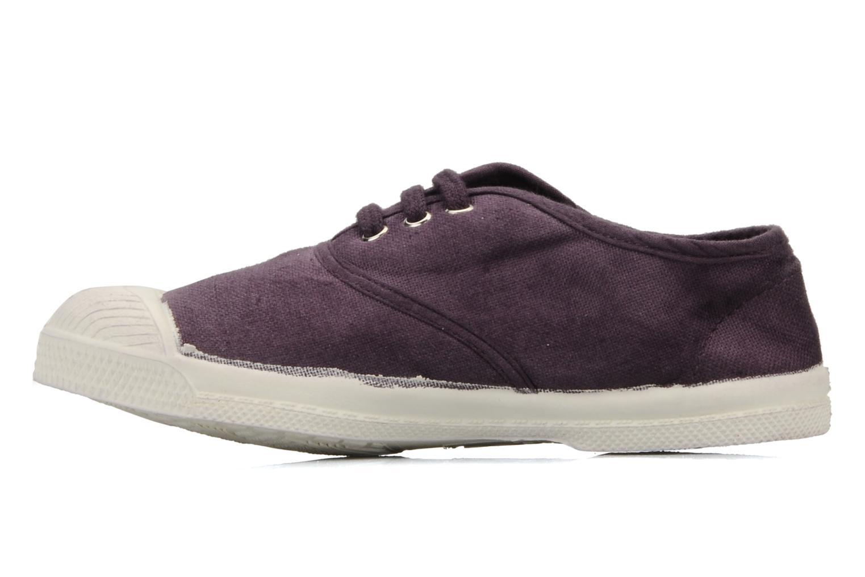 Sneaker Bensimon Tennis Lacets E lila ansicht von vorne