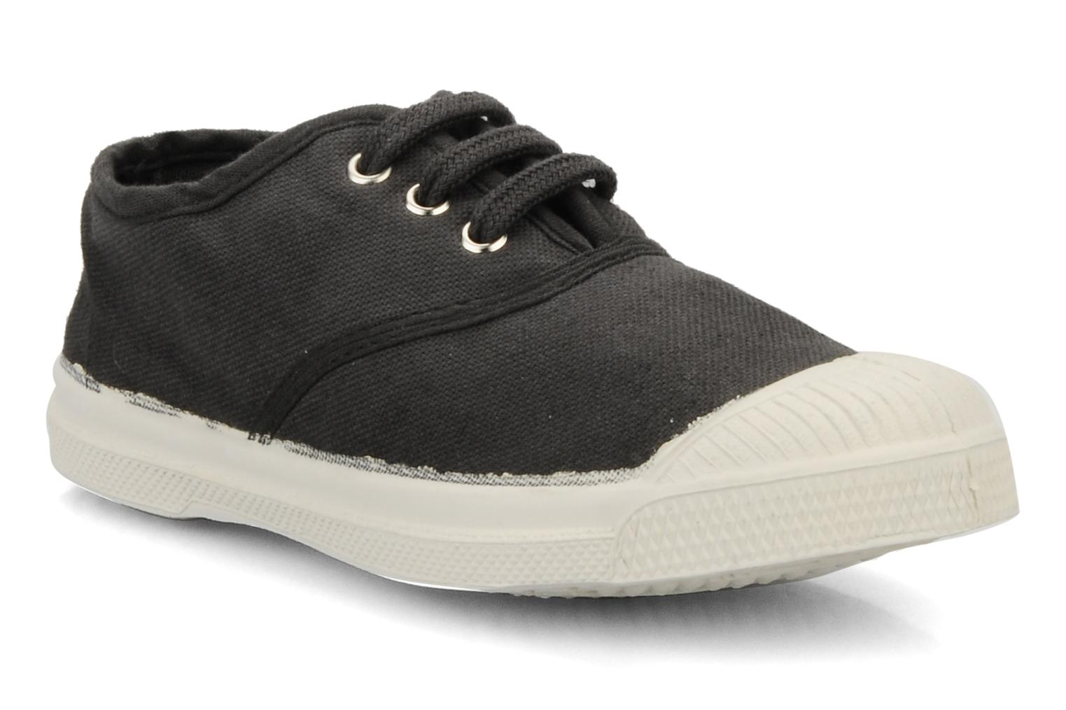 Trainers Bensimon Tennis Lacets E Black detailed view/ Pair view