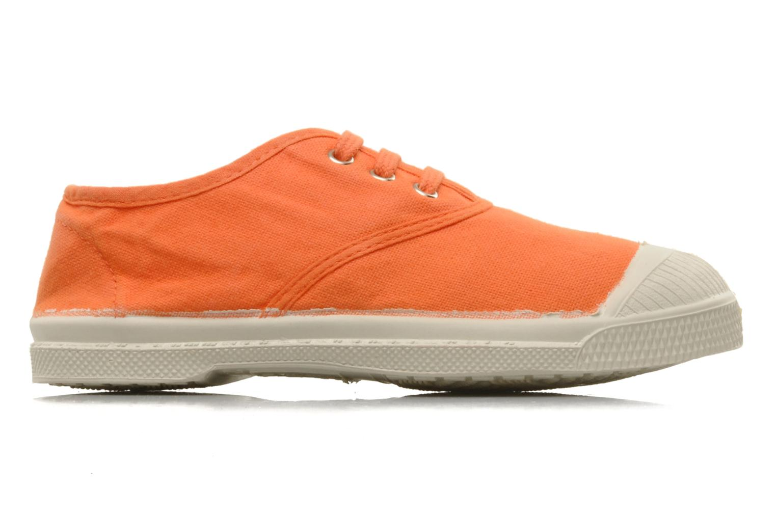 Sneakers Bensimon Tennis Lacets E Orange bild från baksidan
