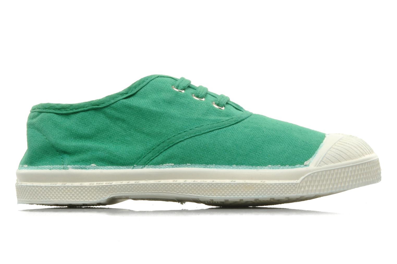 Sneakers Bensimon Tennis Lacets E Grön bild från baksidan