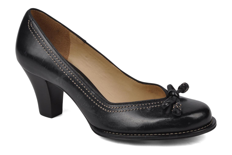 Bombay Lights Black leather