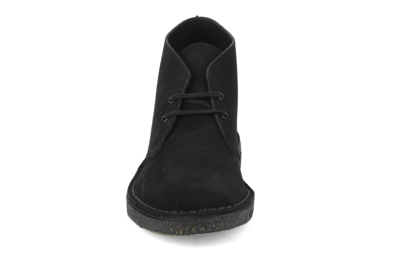 Black Clarks Desert Boot M Suede tOwtrgq4x
