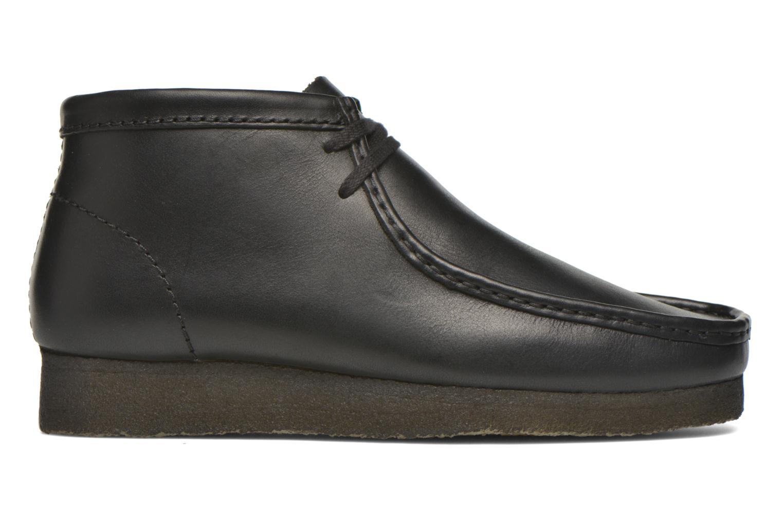 Chaussures à lacets Clarks Originals Wallabee Boot M Noir vue derrière