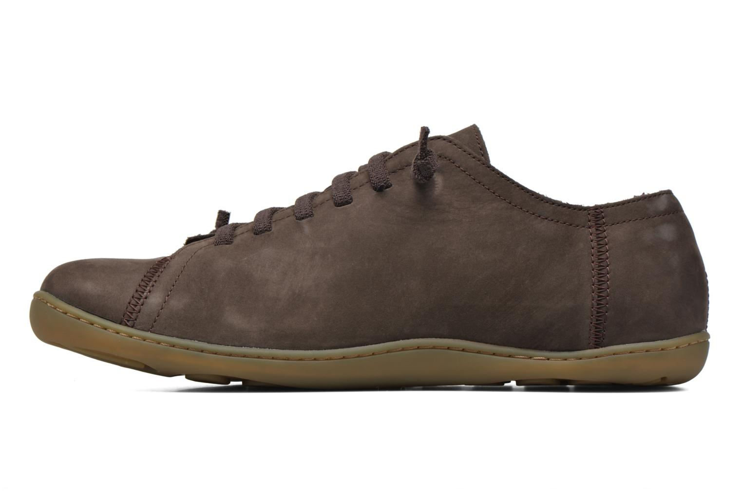 Lace-up shoes Camper Peu Cami 17665 Brown front view