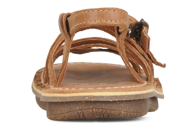 Sandales et nu-pieds Kickers Pinuts Marron vue droite