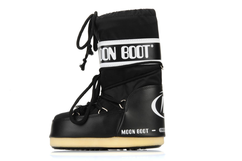 Sportschuhe Moon Boot Moon Boot Nylon E schwarz ansicht von vorne