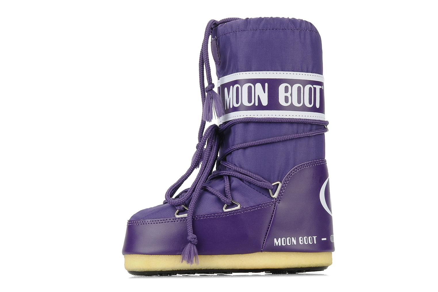 Sport shoes Moon Boot Moon Boot Nylon E Purple front view