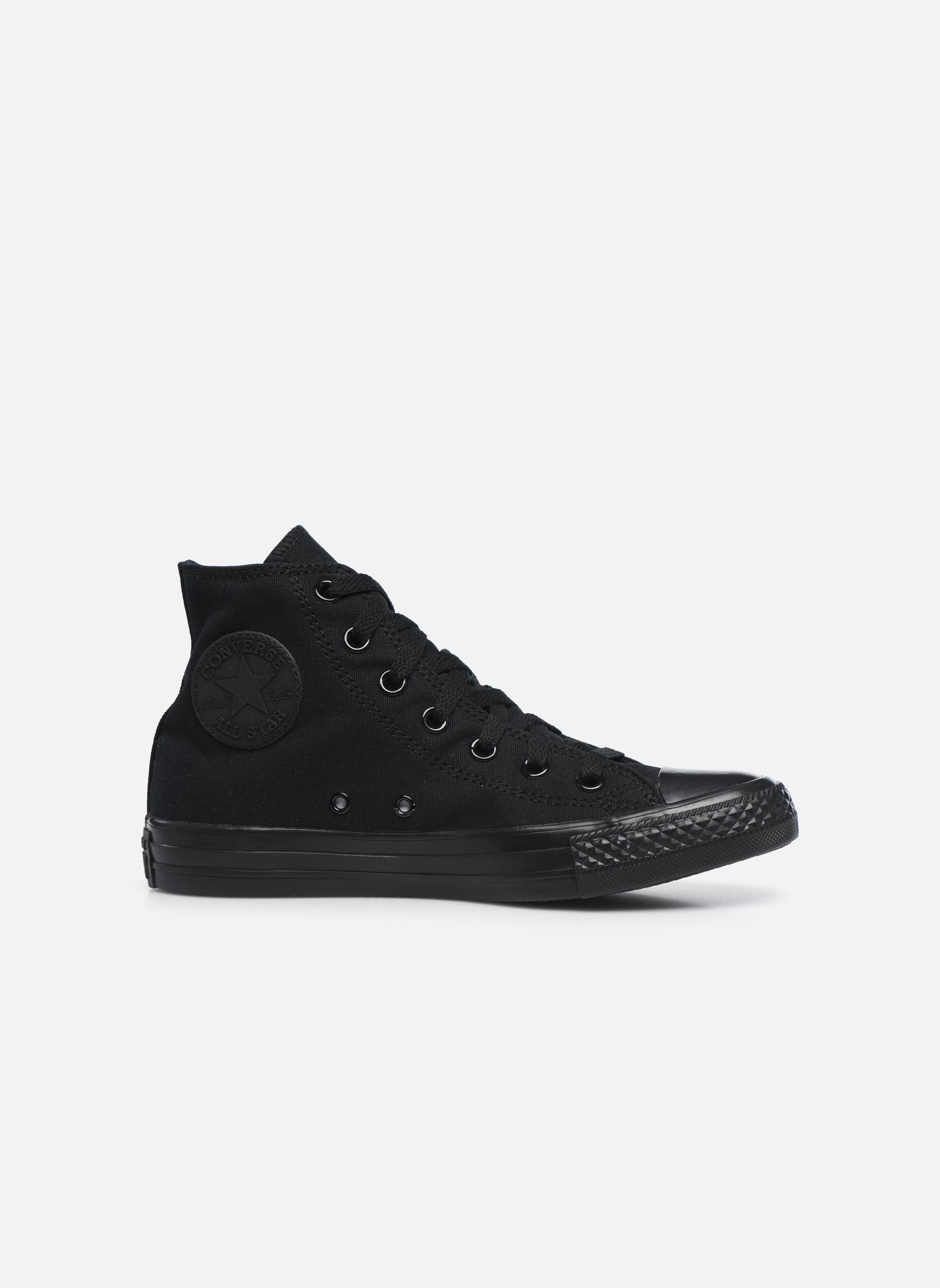 Sneakers Converse Chuck Taylor All Star Monochrome Canvas Hi W Nero immagine posteriore
