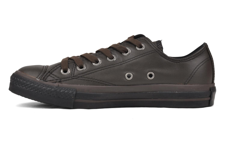 Baskets Converse Chuck Taylor All Star Soft Leather Ox W Noir vue face