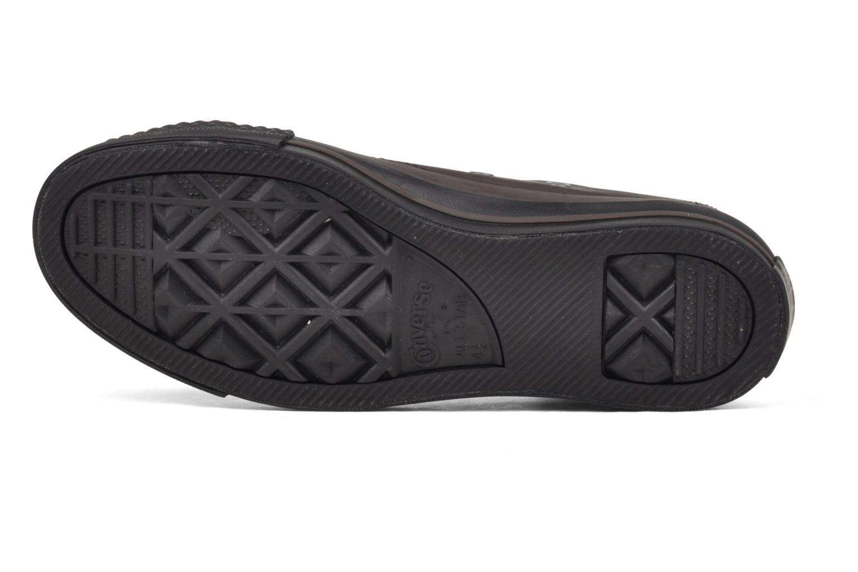 Sneakers Converse Chuck Taylor All Star Soft Leather Ox W Nero immagine dall'alto