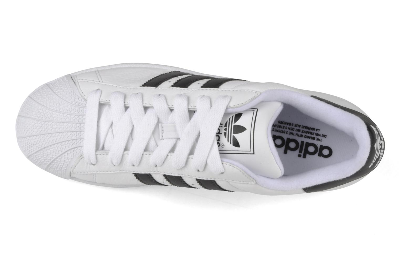 Baskets Adidas Originals Superstar II Blanc vue gauche