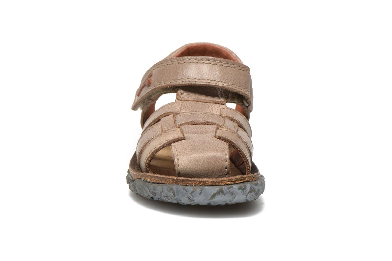 Sandales et nu-pieds Stones and Bones Raxi Gris vue portées chaussures