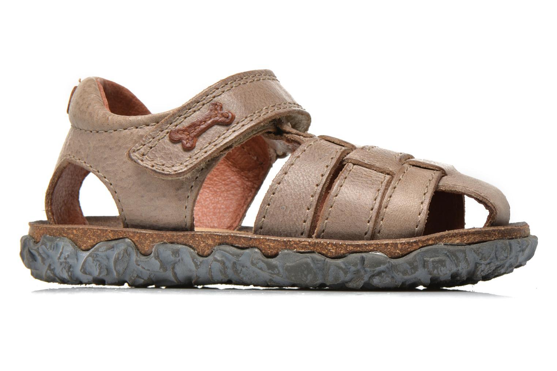 Sandales et nu-pieds Stones and Bones Raxi Gris vue derrière
