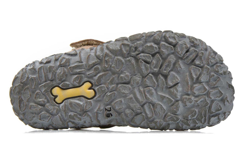 Sandales et nu-pieds Stones and Bones Raxi Gris vue haut