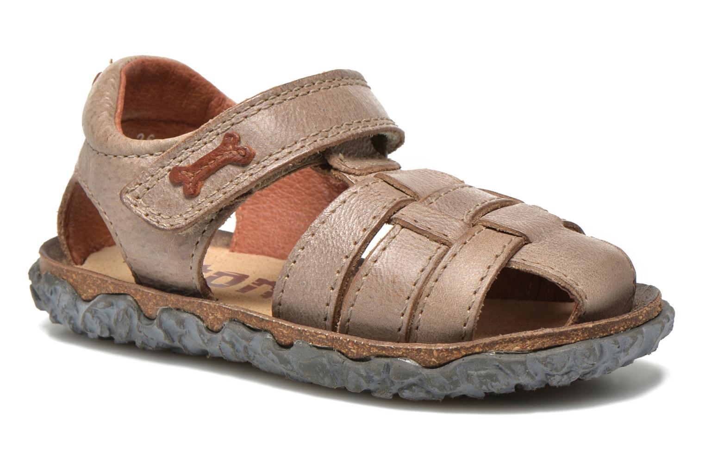 Sandales et nu-pieds Stones and Bones Raxi Gris vue détail/paire