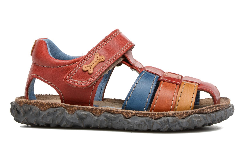Sandales et nu-pieds Stones and Bones Raxi Multicolore vue derrière