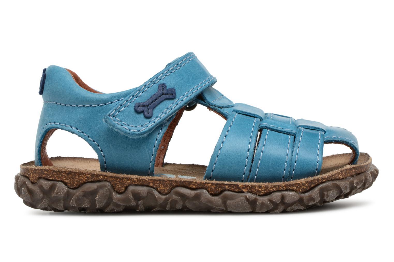 Sandalen Stones and Bones Raxi blau ansicht von hinten