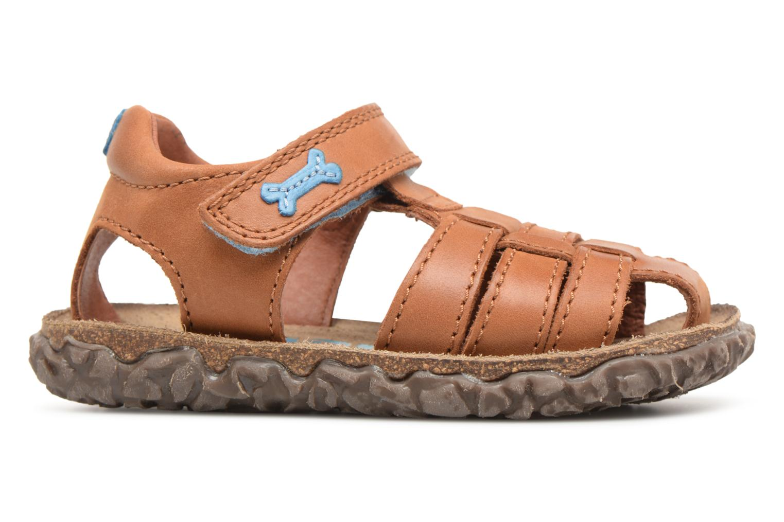Sandals Stones and Bones Raxi Brown back view