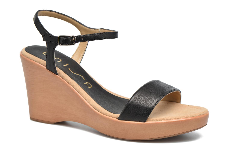 Sandales et nu-pieds Unisa Rita Noir vue détail/paire