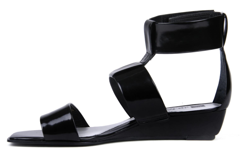 Sandales et nu-pieds JB MARTIN Indou Noir vue face
