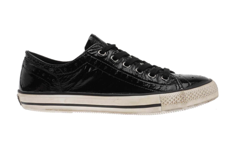 Sneaker Ash Verso schwarz ansicht von hinten