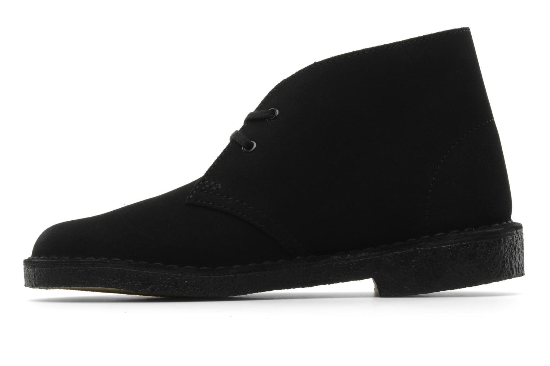 Desert Boot W Black Suede