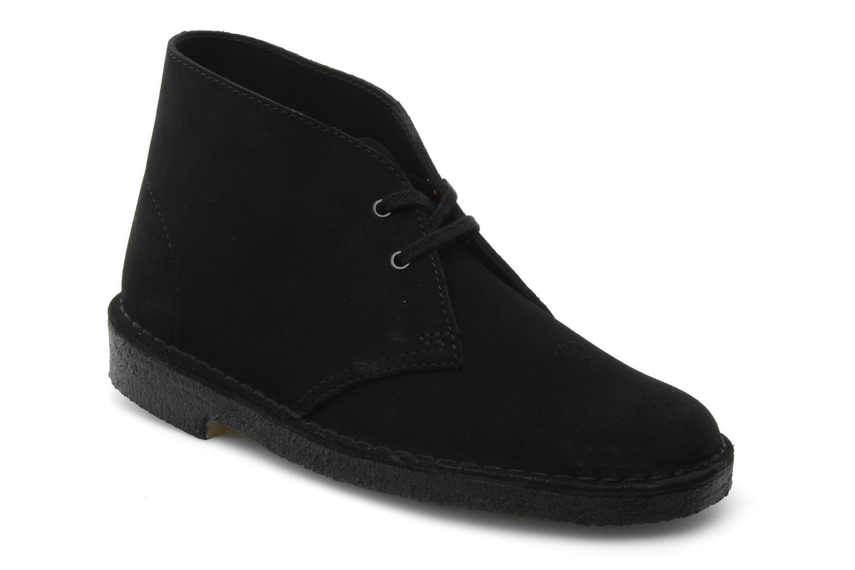 Grandes descuentos últimos zapatos Clarks Desert Boot W (Negro) - Zapatos con cordones Descuento