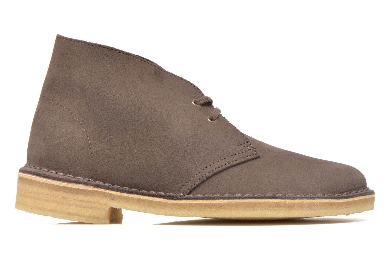 Chaussures à lacets Clarks Desert Boot W Marron vue derrière
