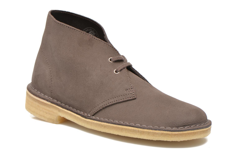 Moda barata y hermosa Clarks Desert Boot W (Marrón) - Zapatos con cordones en Más cómodo