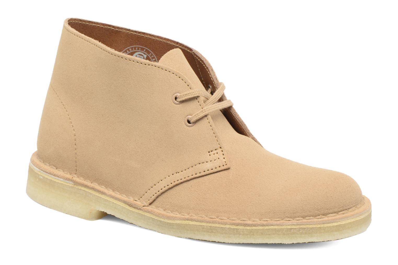 Chaussures à lacets Clarks Desert Boot W Marron vue détail/paire